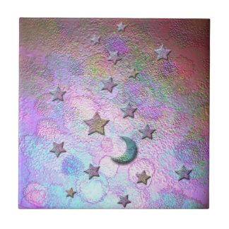 Luas metálicas místicos e estrelas Pastel