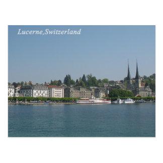 Lucerna, cartão da suiça