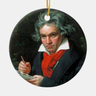 Ludwig van Beethoven Ornamento De Cerâmica