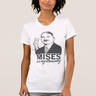 Ludwig von Mises é meu t-shirt do ficar em casa Camiseta
