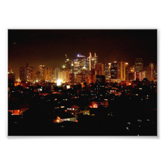 Lugar de Makati Impressão De Foto