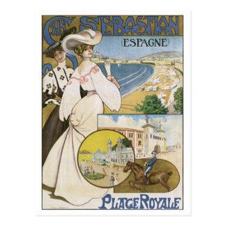Lugar Royale de San Sebastian Espana Cartão Postal