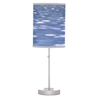 Luminária #3 abstrato: Shimmer do azul de pó