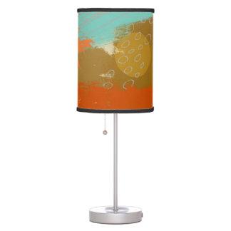 Luminária A pintura abstrata da arte da paisagem circunda