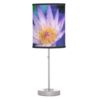 Luminária Aguarela roxa de Lotus