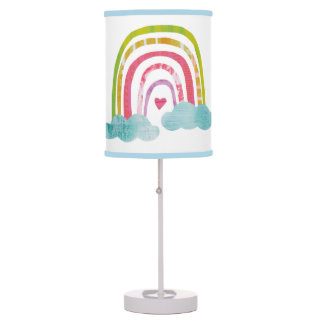 Luminária Arco-íris mágico