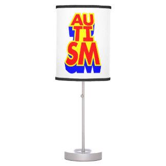 Luminária Autismo