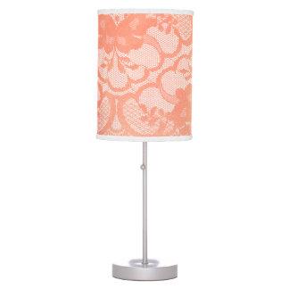 Luminária Campo luxuoso branco Glam do laço coral do ouro