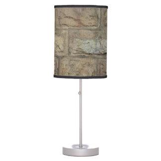 Luminária Candeeiro de mesa de pedra do estilo