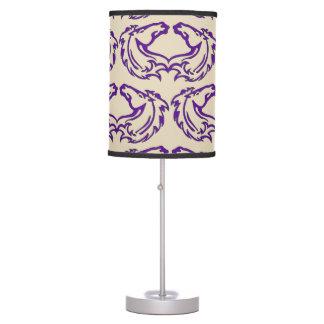 Luminária Candeeiro de mesa dobro do mustang