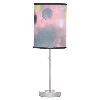 Luminária Céu cor-de-rosa