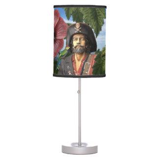 Luminária Colagem do pirata do vintage