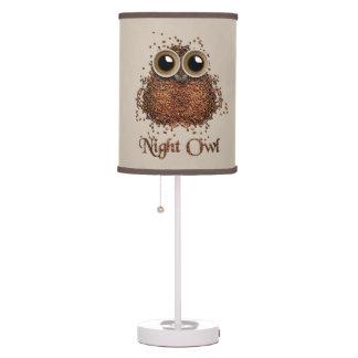 Luminária Coruja de noite
