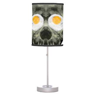 Luminária Crânio com olhos do ovo frito