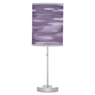 Luminária De Mesa #1 abstrato: Shimmer ultravioleta