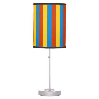 Luminária De Mesa A bandeira de Zaire listra linhas teste padrão