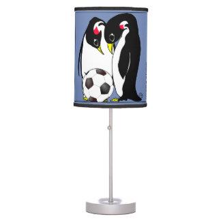 Luminária De Mesa a mamã e o pai do pinguim x2017 com bola de