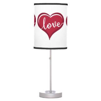 Luminária De Mesa amor em namorados do coração