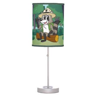 Luminária De Mesa Assento do rick da guarda florestal do rick | da