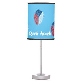 Luminária De Mesa Bandeira checa da impressão digital do toque