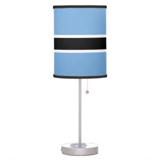 Luminária De Mesa Bandeira de Botswana