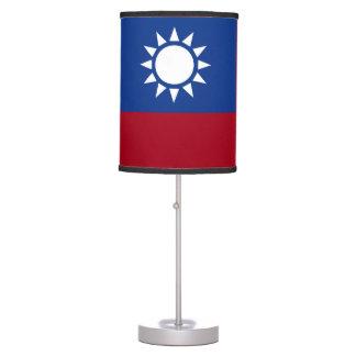 Luminária De Mesa Bandeira de Formosa a República da China