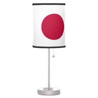 Luminária De Mesa Bandeira de Japão