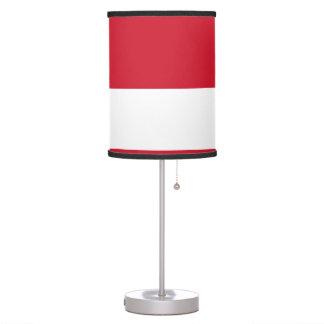 Luminária De Mesa Bandeira de Monaco