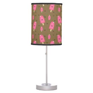 Luminária De Mesa Bares cor-de-rosa do sorvete