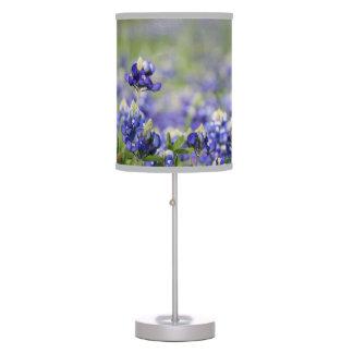 Luminária De Mesa Bluebonnets de Texas para amantes de natureza!