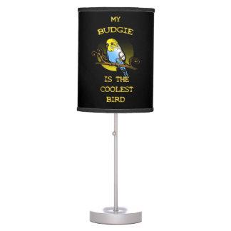 Luminária De Mesa Budgie é o pássaro o mais fresco