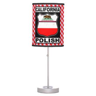 Luminária De Mesa Candeeiro de mesa americano polonês de Califórnia