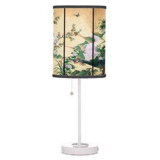 Luminária De Mesa Candeeiro de mesa asiático da cachoeira da pomba