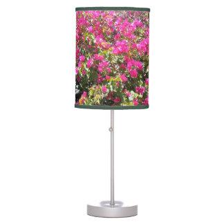 Luminária De Mesa Candeeiro de mesa cor-de-rosa bonito do impressão