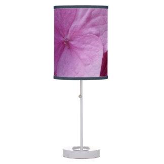 Luminária De Mesa Candeeiro de mesa cor-de-rosa da flor do Hydrangea