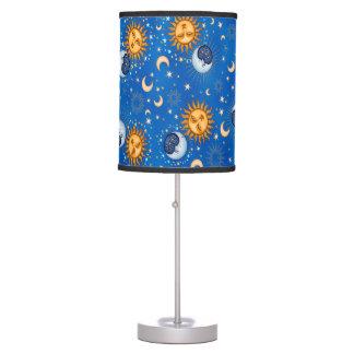 Luminária De Mesa candeeiro de mesa da lua da estrela do sol