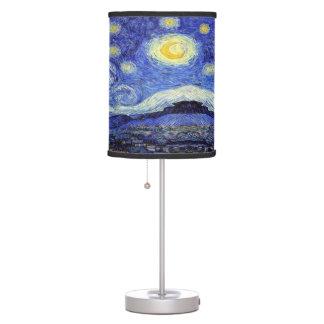 Luminária De Mesa Candeeiro de mesa da noite estrelado