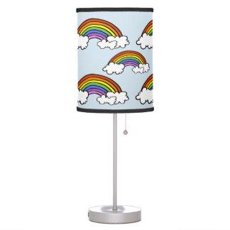 Luminária De Mesa Candeeiro de mesa do arco-íris
