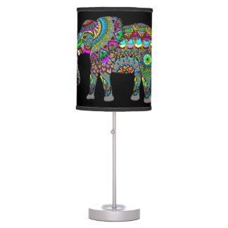 Luminária De Mesa Candeeiro de mesa do espírito do elefante