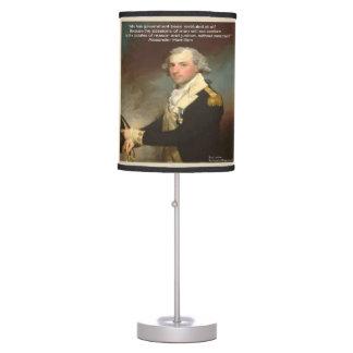 Luminária De Mesa Candeeiro de mesa do governo de Alexander Hamilton