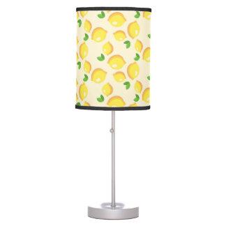 Luminária De Mesa Candeeiro de mesa do teste padrão do limão