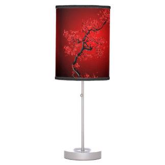 Luminária De Mesa Candeeiro de mesa vermelho novo da flor