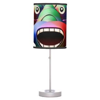Luminária De Mesa Cara engraçada futurista do caráter do monstro