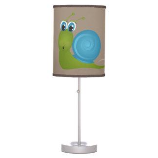 Luminária De Mesa Caracol feliz bonito da lâmpada do miúdo