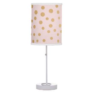 Luminária De Mesa Coram decoração cor-de-rosa do berçário ou do