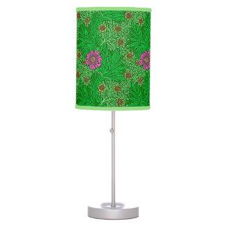 Luminária De Mesa Cravo-de-defunto de William Morris, verde