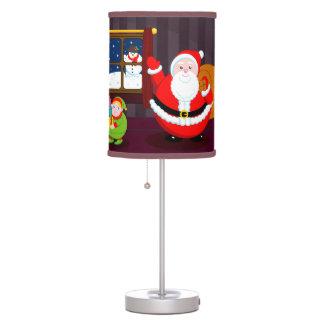 Luminária De Mesa Desenhos animados de Papai Noel que entregam