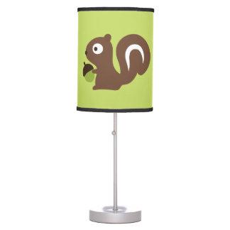 Luminária De Mesa Design bonito do esquilo do bebê