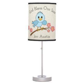 Luminária De Mesa Deus abençoe nosso filho: Personalizado