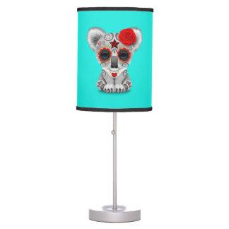 Luminária De Mesa Dia vermelho do Koala inoperante do bebê